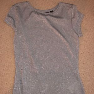 Ted Baker London Light Blue Sparkly Top